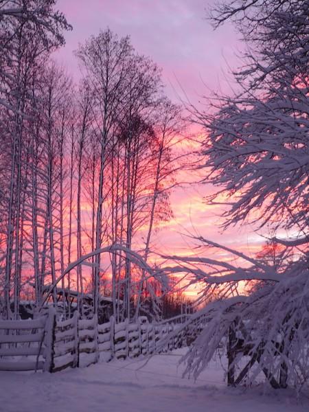 Tobzódó színek búcsúztatják a napot